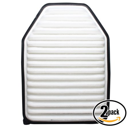 2-Pack Replacement Engine Air Filter for 2013 Jeep Wrangler V6 3.6 Car/Automotive - Panel Filter, ACA-10348 - image 1 de 1