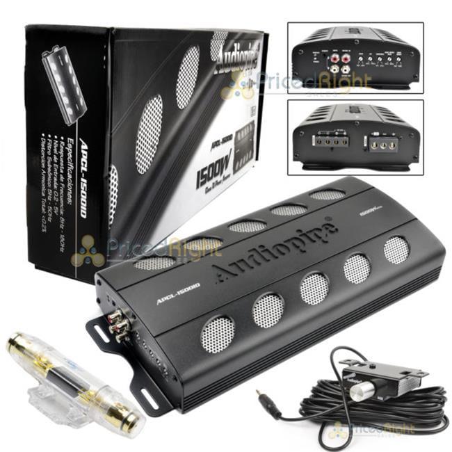 Audiopipe APCLE15001D 1500W Class D Monoblock Amplifier