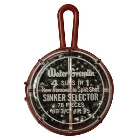 (Water Gremlin Round Split Shot Selector)
