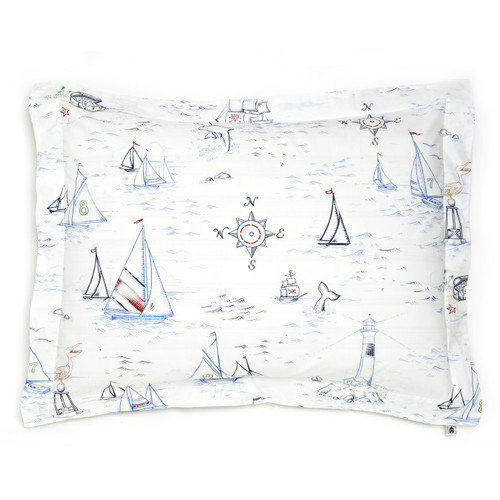 Whistle and Wink High Seas Standard Sham