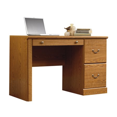 - Sauder Orchard Hills Computer Desk, Carolina Oak Finish