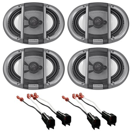 11 15 Ford F 650 750 Precision 5X7  Front Rear Facotry Speaker Replacement Kit