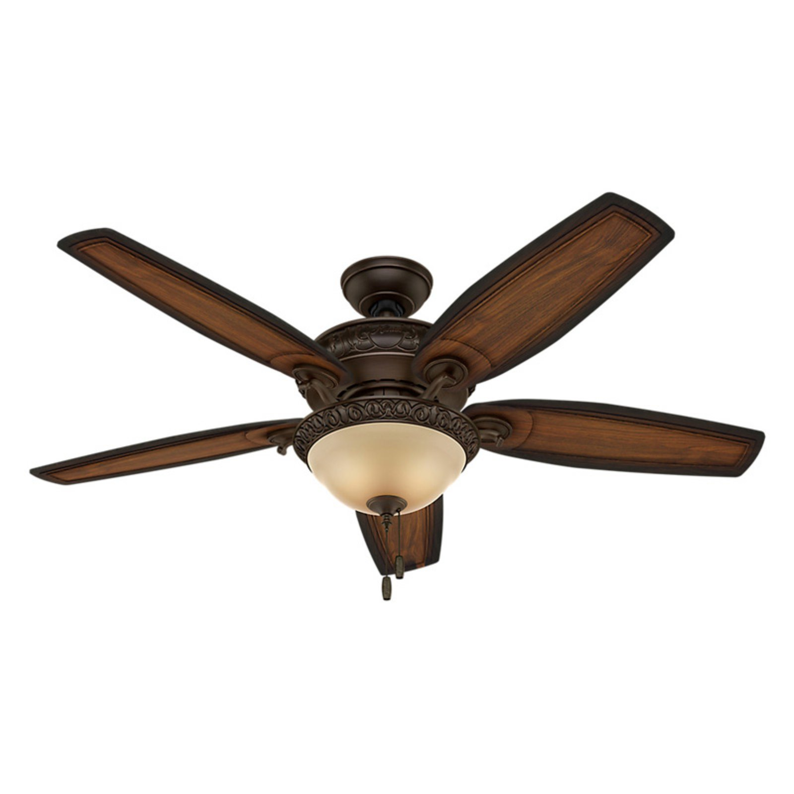 "Hunter 54"" Brushed Cocoa Ceiling Fan by Hunter"