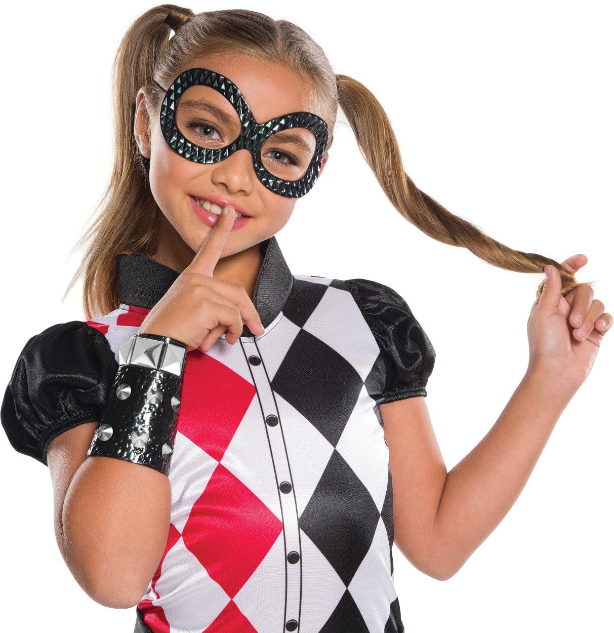 Girl's DC Super Hero Girls Harley Quinn Costume Accessory Kit by Rubies Costume Co