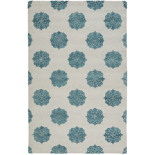 Safavieh Soho Ivory/Blue Area Rug