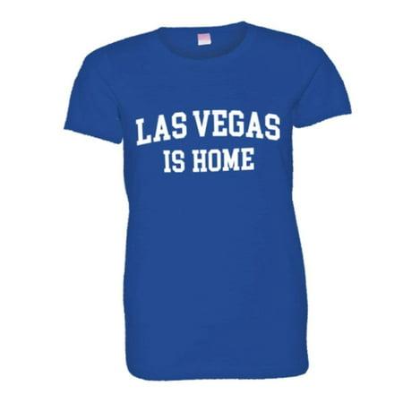 PleaseMeTees™ Womens LAS Vegas NV Is Home Born In From HQ - Halloween Las Vegas Nv