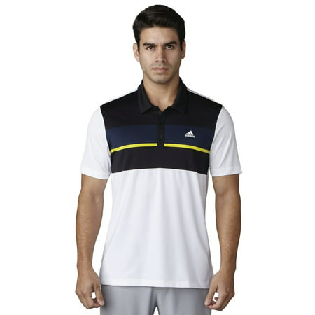 ADIDAS CLIMACOOL ENGINEERED BLOCK POLO MENS GOLF SHIRT -NEW 2017- PICK A -