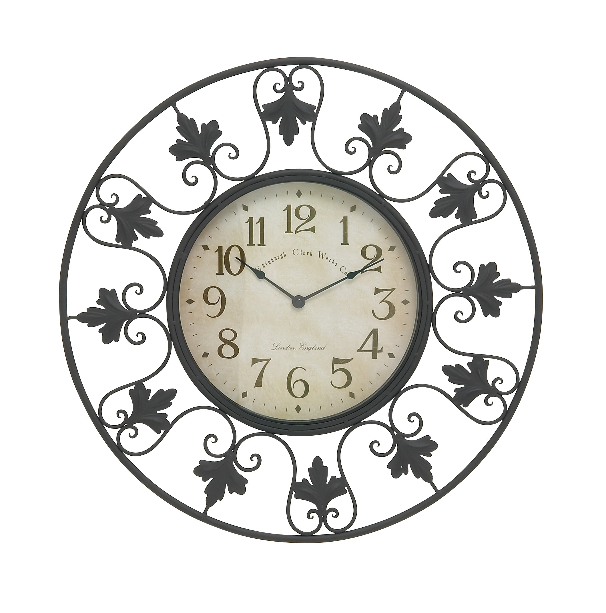 Decorative Metal Outdoor Wall Clock
