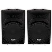 "Podium Pro PP1510 Passive 15"" Speaker Pair 1800W PA DJ Karaoke Home PP1510-PR"