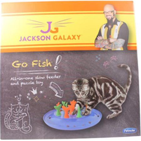 Petmate 684723 jackson galaxy go fish cat toy for Jackson galaxy cat toys