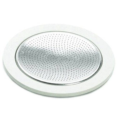 Stovetop Espresso Maker Gasket - Bialetti Replacement Gasket and Filter For 3 Cup Stovetop Espresso Coffee Makers