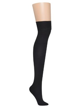 DKNY Womens Skin Sense Fleece Over The Knee Thigh Highs Style-DYF006