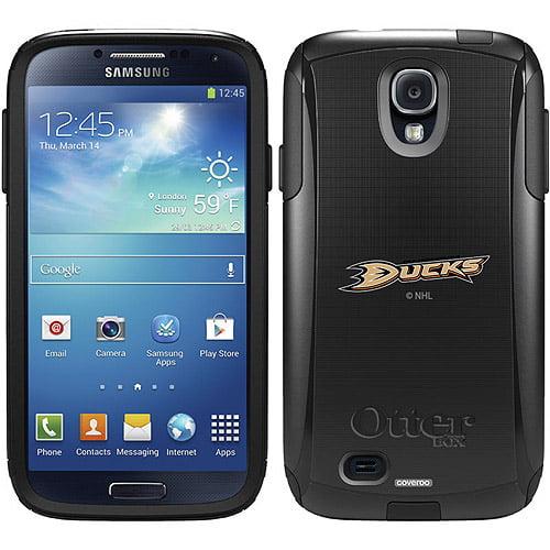 Anaheim Ducks Primary Logo Design on OtterBox Commuter Series Case for Samsung Galaxy S4
