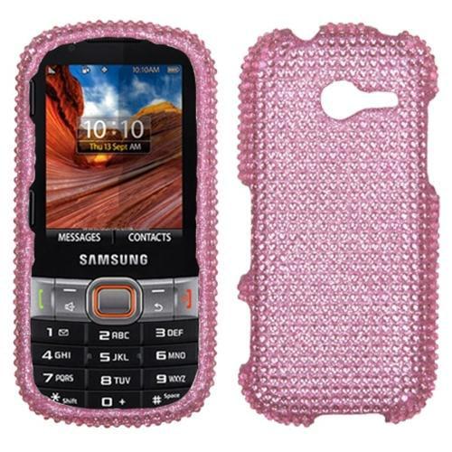 Insten Pink Diamante Case (Diamante 2.0) for SAMSUNG: M390 (Montage)