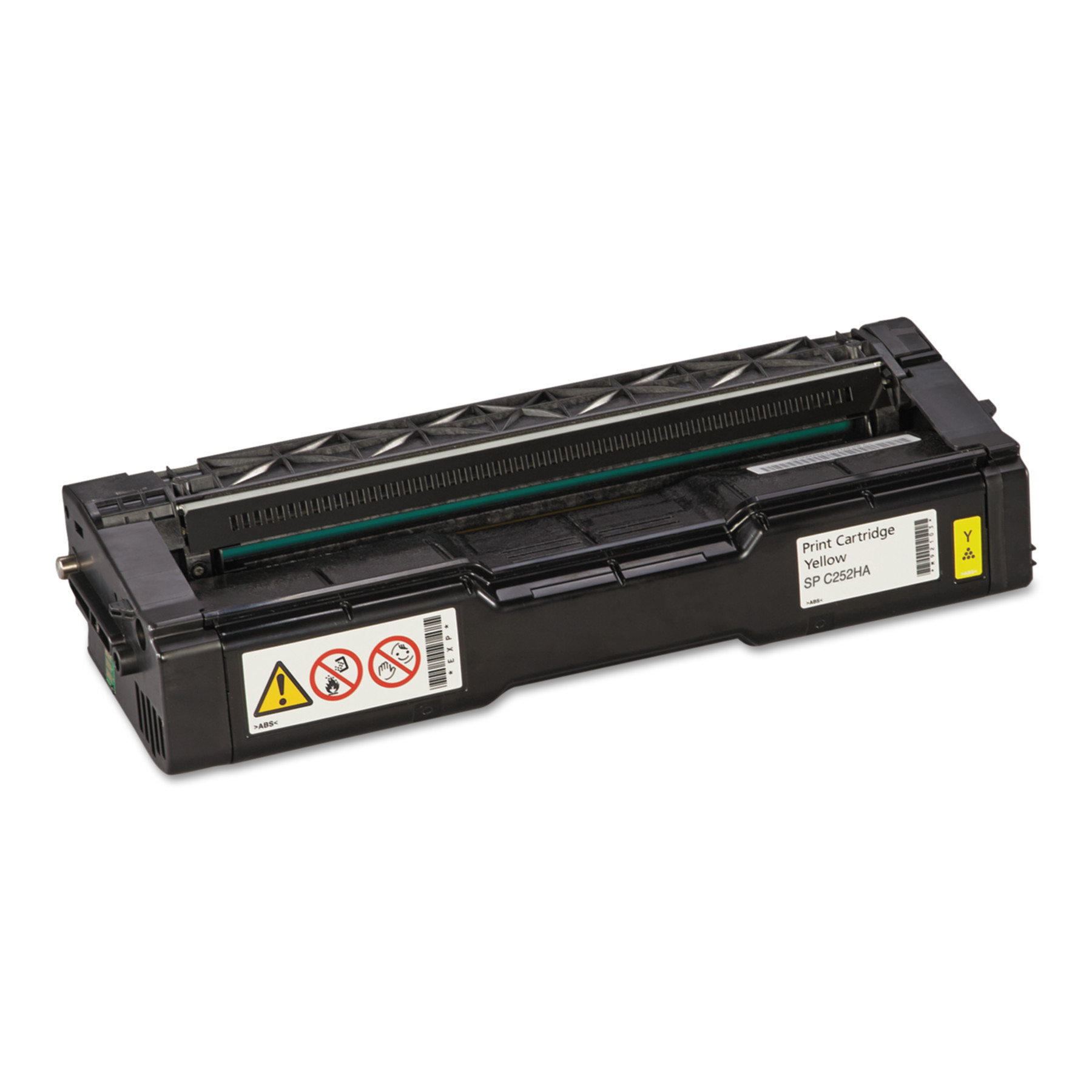 Ricoh 407656 Toner, 6000 Page-Yield, Yellow