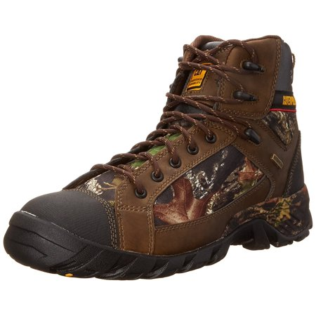 Caterpillar Men's Hoit Mid WP Work Boot (Caterpillar Mens Navigator Wp Work Oxfordeel Toe)
