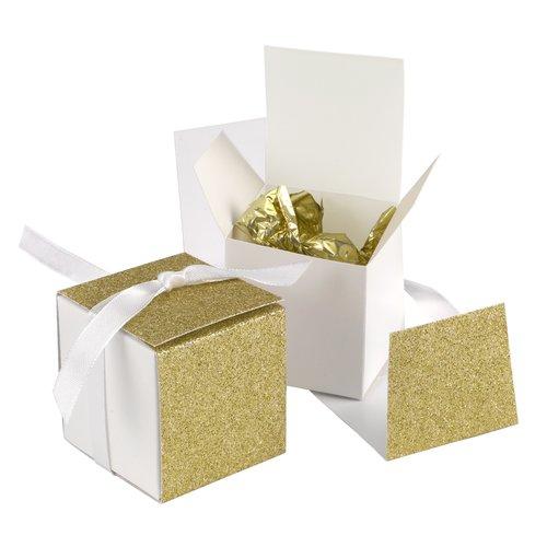 Le Prise Glitter Wrap Favor Box