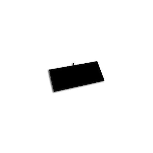 Six Luxurious Black Velvet Jewelry Display Pads 14 1/8