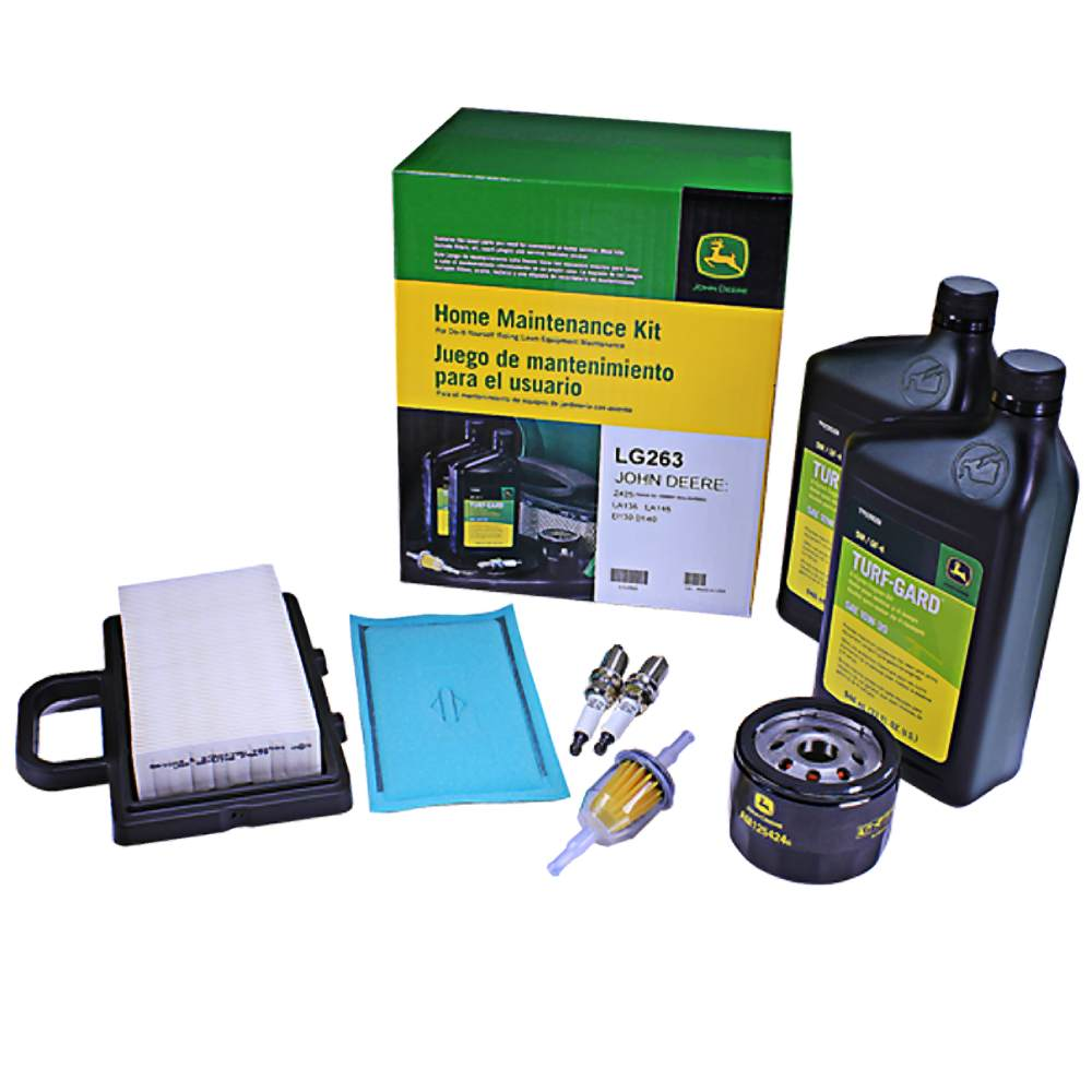 John Deere LG263 Home Maintenance Kit LA135 LA145 D130 D140