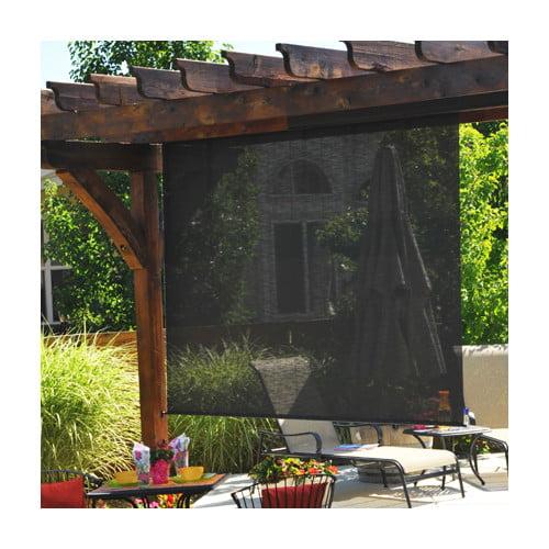 Keystone Controlled Semi-Sheer Outdoor Solar Shade