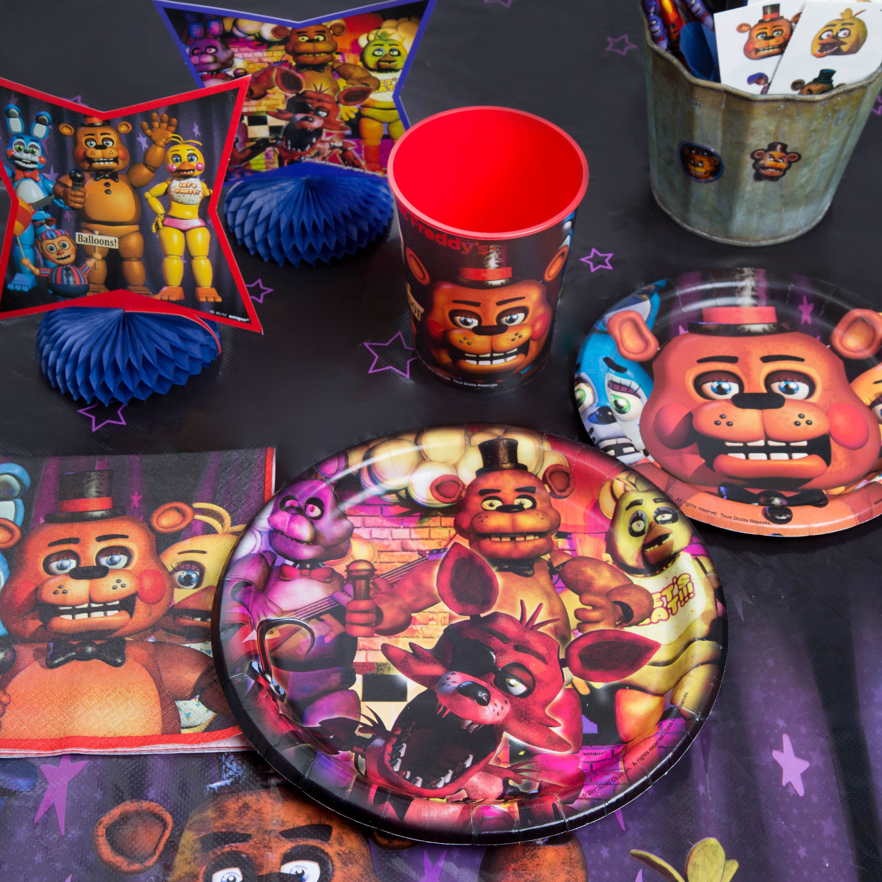 Five Nights at Freddy's Party Supplies - Walmart com