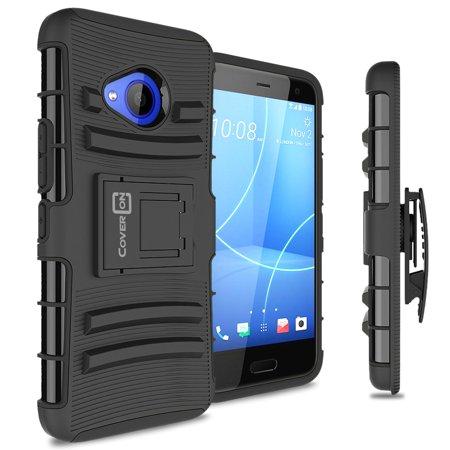 CoverON HTC U11 Life Case, Explorer Series Protective Holster Belt Clip Phone