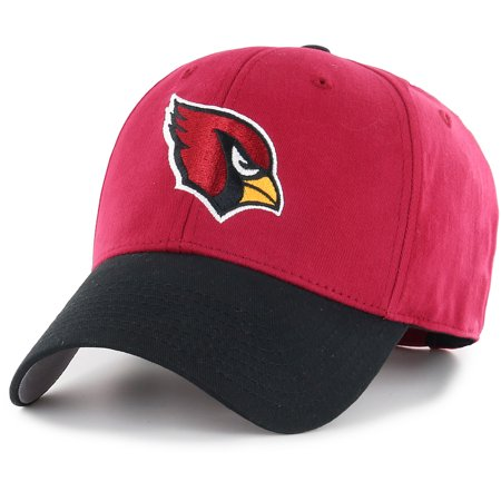 Men's Fan Favorite Cardinal/Black Arizona Cardinals Two-Tone Adjustable Hat - OSFA
