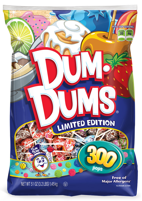 Dum Dums Limited Edition Lollipops 300