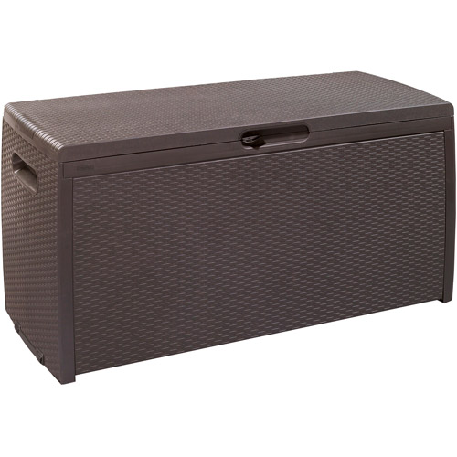Keter 70 Gallon Rattan Deck Box