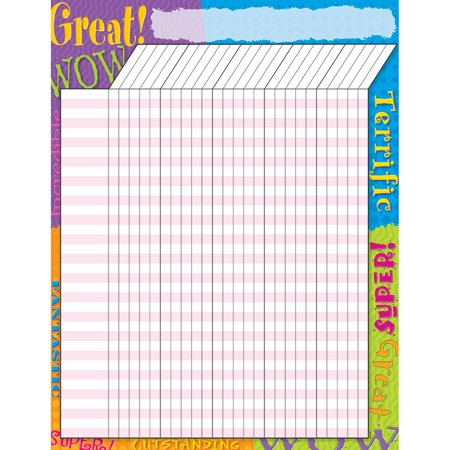 (12 Ea) Incentive Chart Praise Words