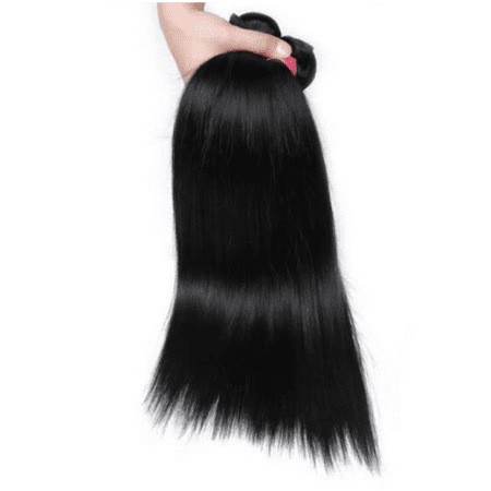 Allove 7A Brazilian Virgin Hair Straight 10 Bundles Wholesale Price Human Hair Extensions,