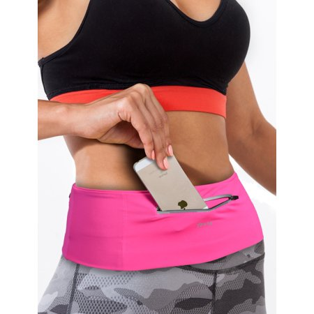 Sports Travel Money Belt - Unisex Fitness Fanny & Waist Pack -Reflective Running Belt Flip Belt - Runners waist pack & M