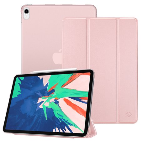 sale retailer f33f5 3b451 Fintie iPad Pro 11 Case 2018 - Translucent SlimShell Cover Supports Apple  Pencil 2nd Gen Charging Mode