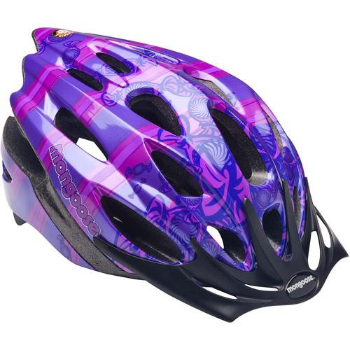 Mongoose Candy Girls' Bicycle Helmet, Purple, Child