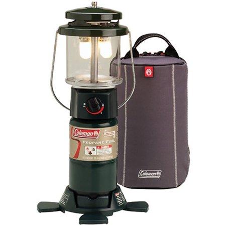 Coleman Deluxe Perfectflow Propane Lantern 2000011525 w/ Soft Carry Case