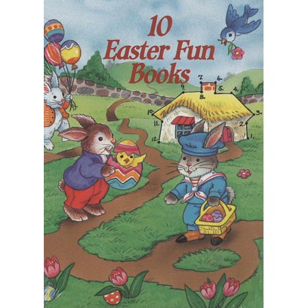 Springtime Activity - 10 Easter Fun Books : Stickers, Stencils, Tattoos and More
