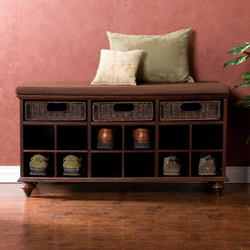 Carrabelle Shoe Bench, Espresso