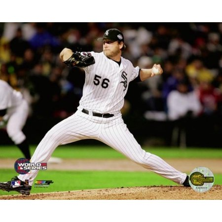 Mark Buehrle 2005 World Series Game 2 Action Photo Print