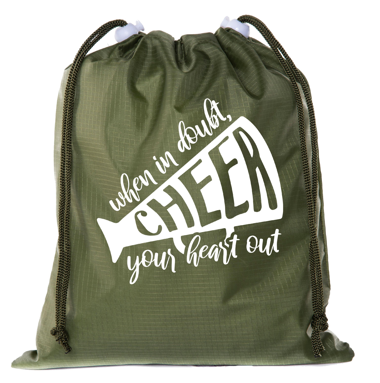 Diamond Dot Diva White Drawstring Backpack Sports Athletic Gym Cinch Sack String Storage Bags for Hiking Travel Beach
