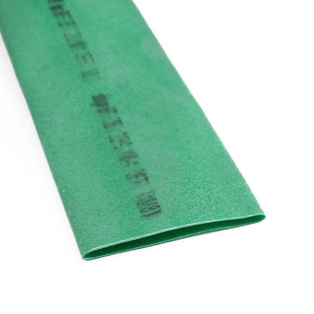 4.5M Length 16mm Dia Polyolefin Heat Shrinkable Tube Sleeving Green - image 2 of 3