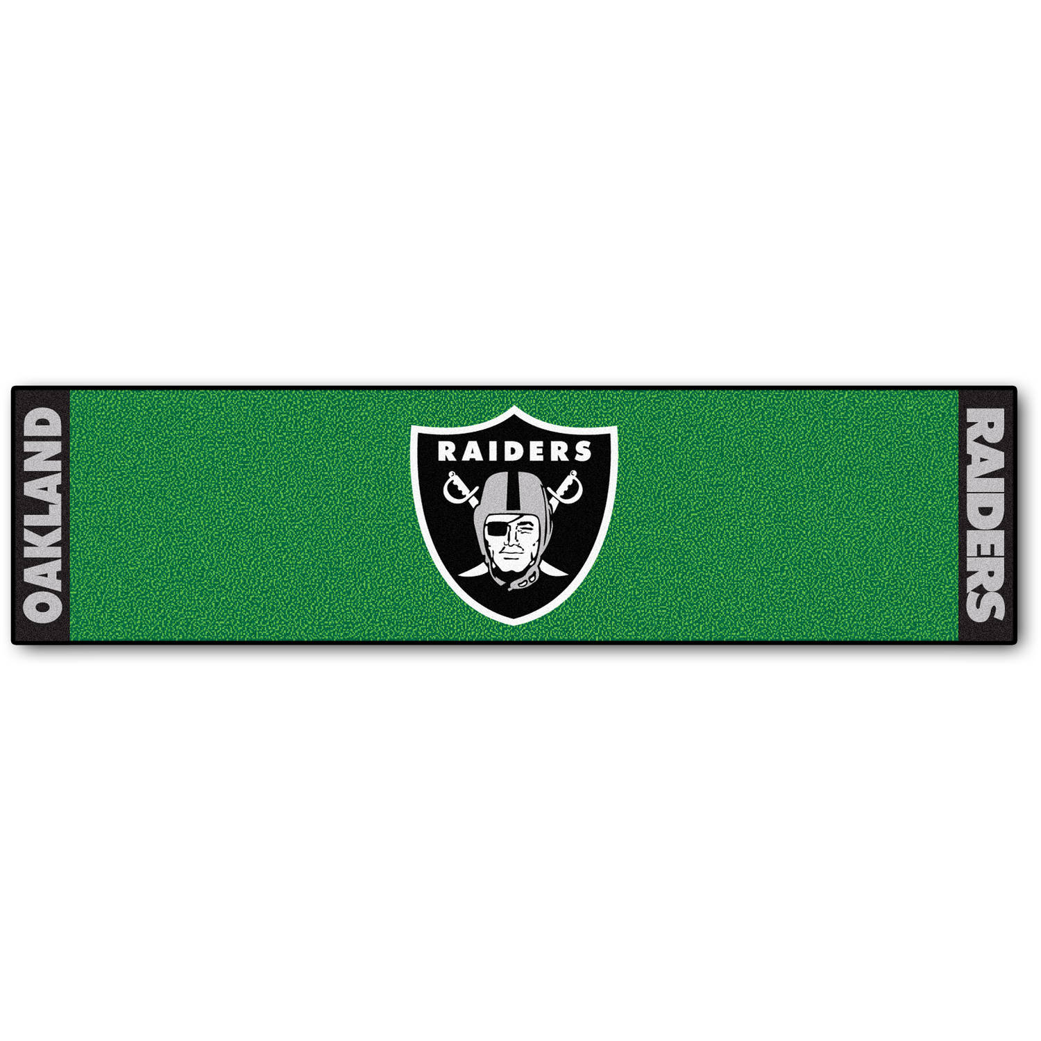 FanMats NFL Oakland Raiders Putting Green Mat