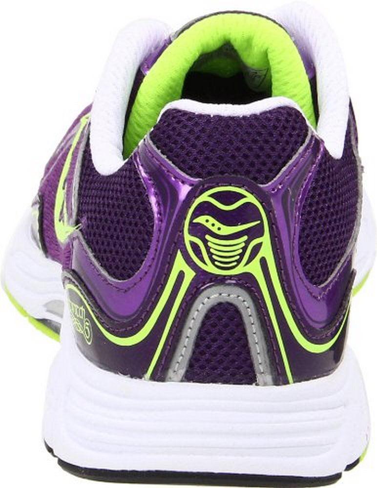 Saucony Women's Grid Fastwitch 5 Running Shoe,Purple Citron,5.5 M US by