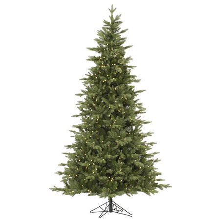 Vickerman Pre-Lit 6.5' Fresh Balsam Fir Artificial Christmas Tree, LED,  Warm White Lights - Walmart.com - Vickerman Pre-Lit 6.5' Fresh Balsam Fir Artificial Christmas Tree