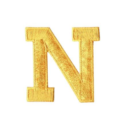 Alphabet Letter - N - Color Yellow - 2