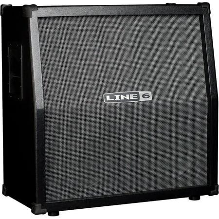 Line 6 Spider V 412 320W 4x12 Guitar Speaker Cabinet Black 2x12 Guitar Speaker Cabinet