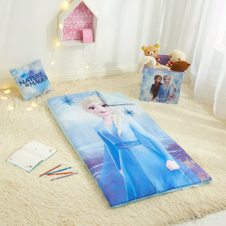 Frozen 2 Combo Set with Sleeping bag, Storage Cube and Bonus Pillow