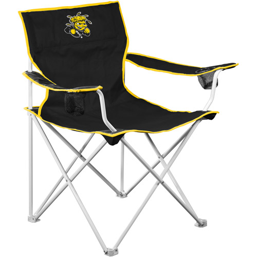 Logo Chair NCAA Wichita State Deluxe Chair