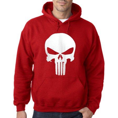 216 - Hoodie The Punisher Skull Logo Sweatshirt