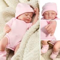 f5aaf2474 Product Image 11'' Realistic Silicone Vinyl Sleeping Reborn Babies Doll  That Look Real Lifelike Realike Alive