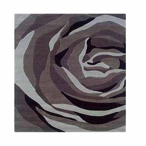 Wildon Home  Amaia Hand-Tufted Grey/Charcoal Area Rug